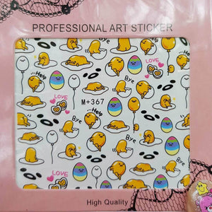 Gudetama Nail Sticker