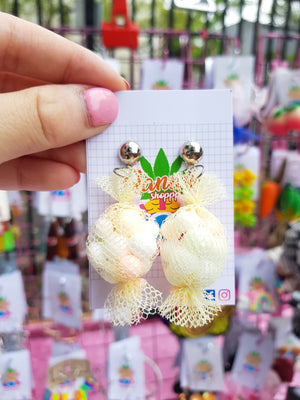 Candy Earrings- Light Yellow