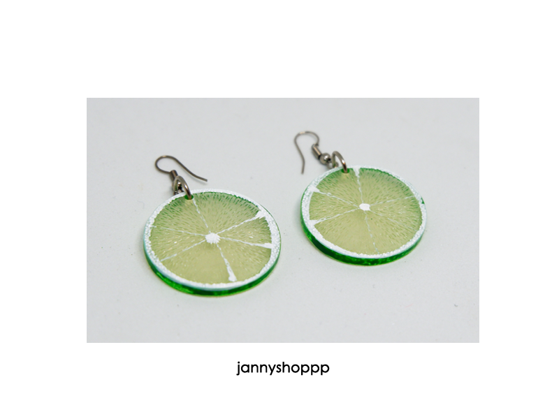 Small Limes Earrings
