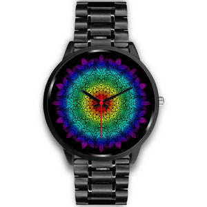 Rainbow Child Mandala Watch
