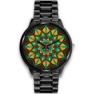Sunrise in Nature Mandala Watch