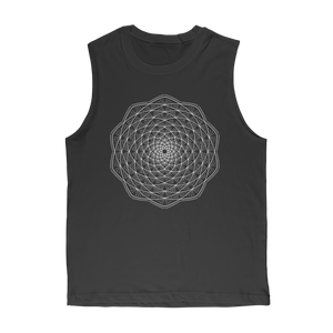 Branchy Mandala Classic Adult Muscle Top