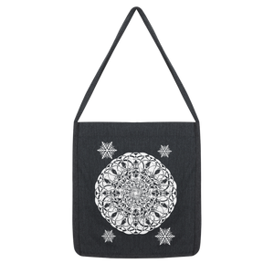 Christmas Mandala with Snowflakes Classic Tote Bag