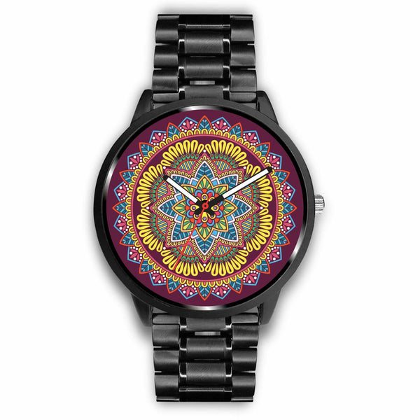 Magic Mandala Watch - Yellow
