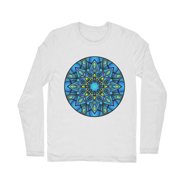 Kaleidoscope Mandala Classic Long Sleeve T-Shirt