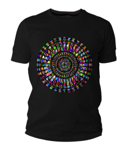 Crystal Mandala Short-Sleeve Unisex T-Shirt