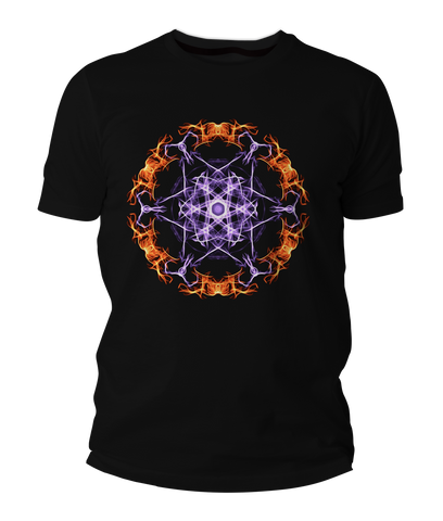 Fire Mandala Short-Sleeve Unisex T-Shirt