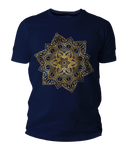 Golden Mandala Short-Sleeve Unisex T-Shirt