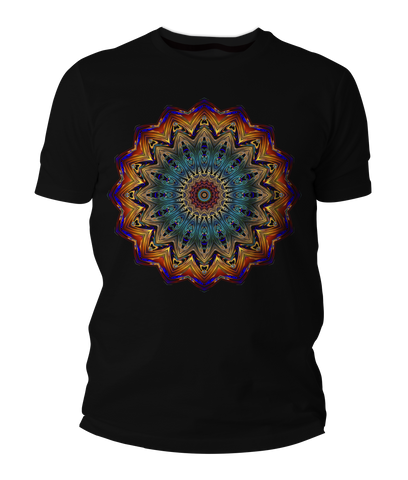 Jelly Mandala Short-Sleeve Unisex T-Shirt