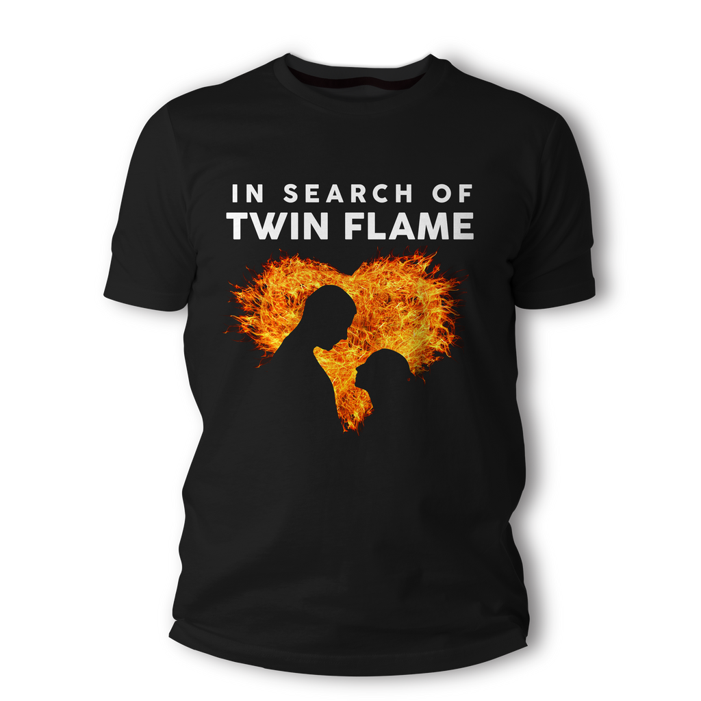 In Search of Twin Flame - Short-Sleeve Unisex T-Shirt