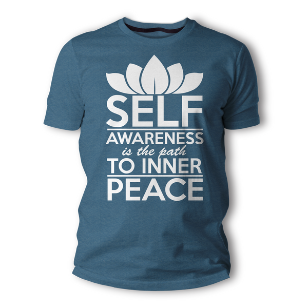 Self-Awareness is the path to inner Peace - Heather Unisex T-Shirt