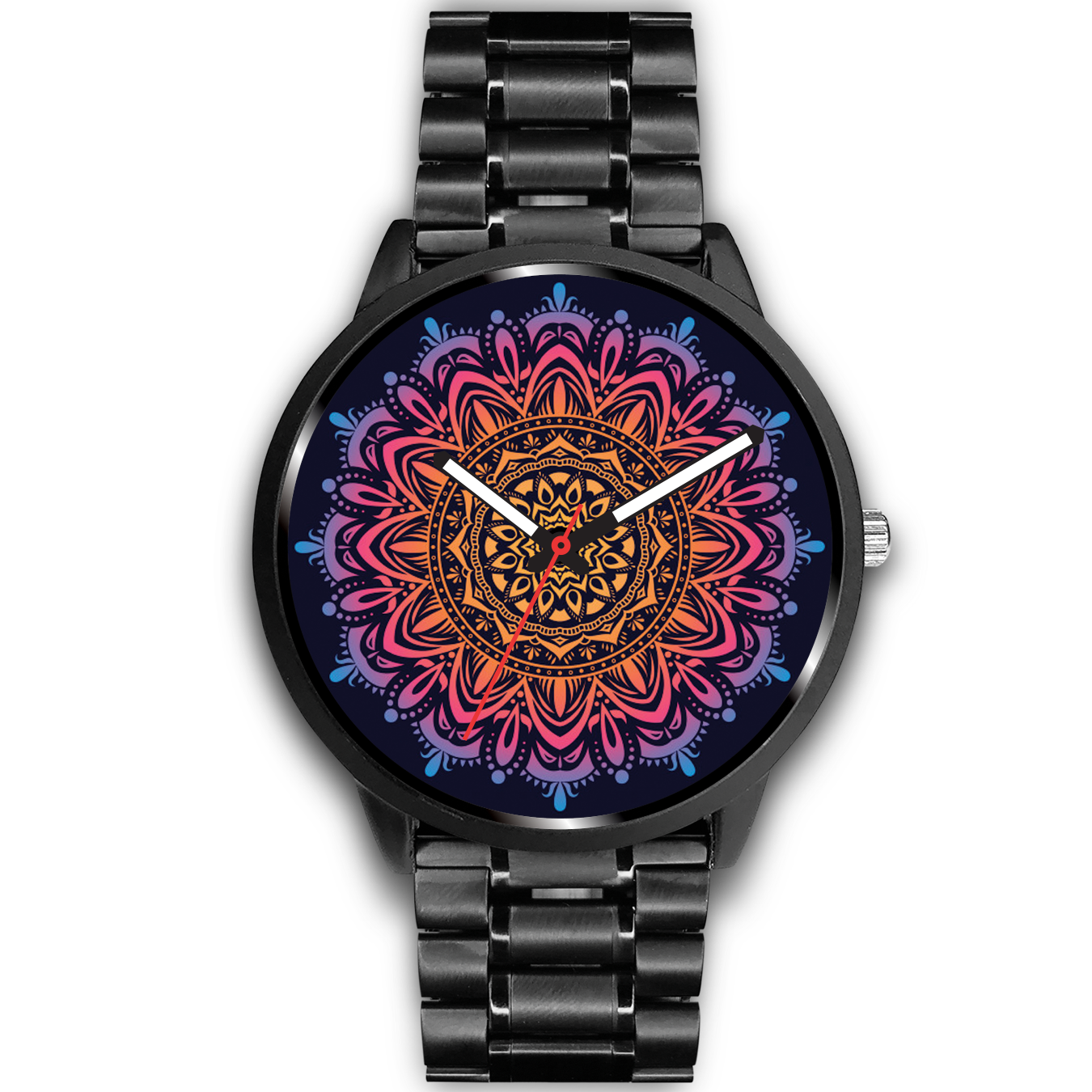 Flameful Rise Mandala Watch