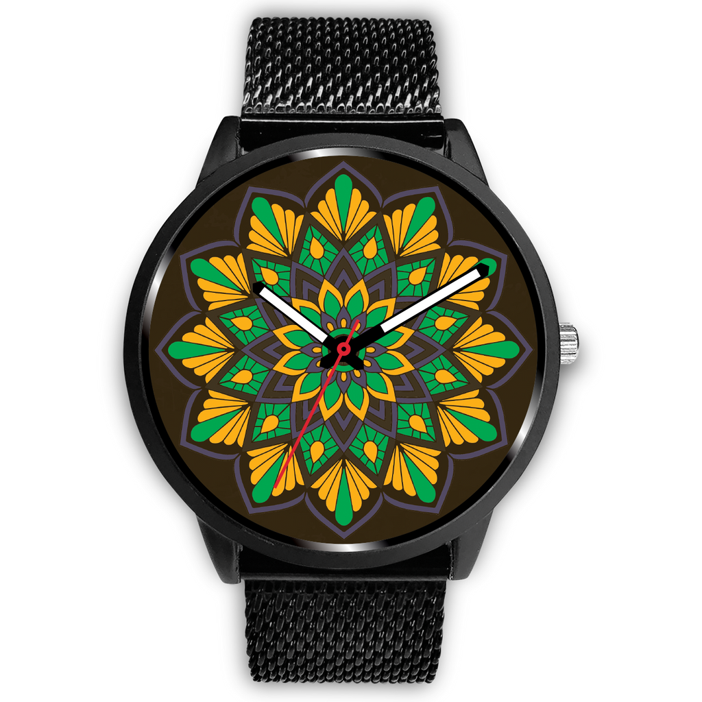 Strong Heart Mandala Watch