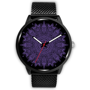 Violet Multi Mandala Watch