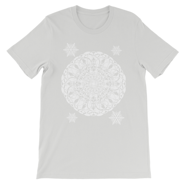 Christmas Mandala with Snowflakes Premium Kids T-Shirt