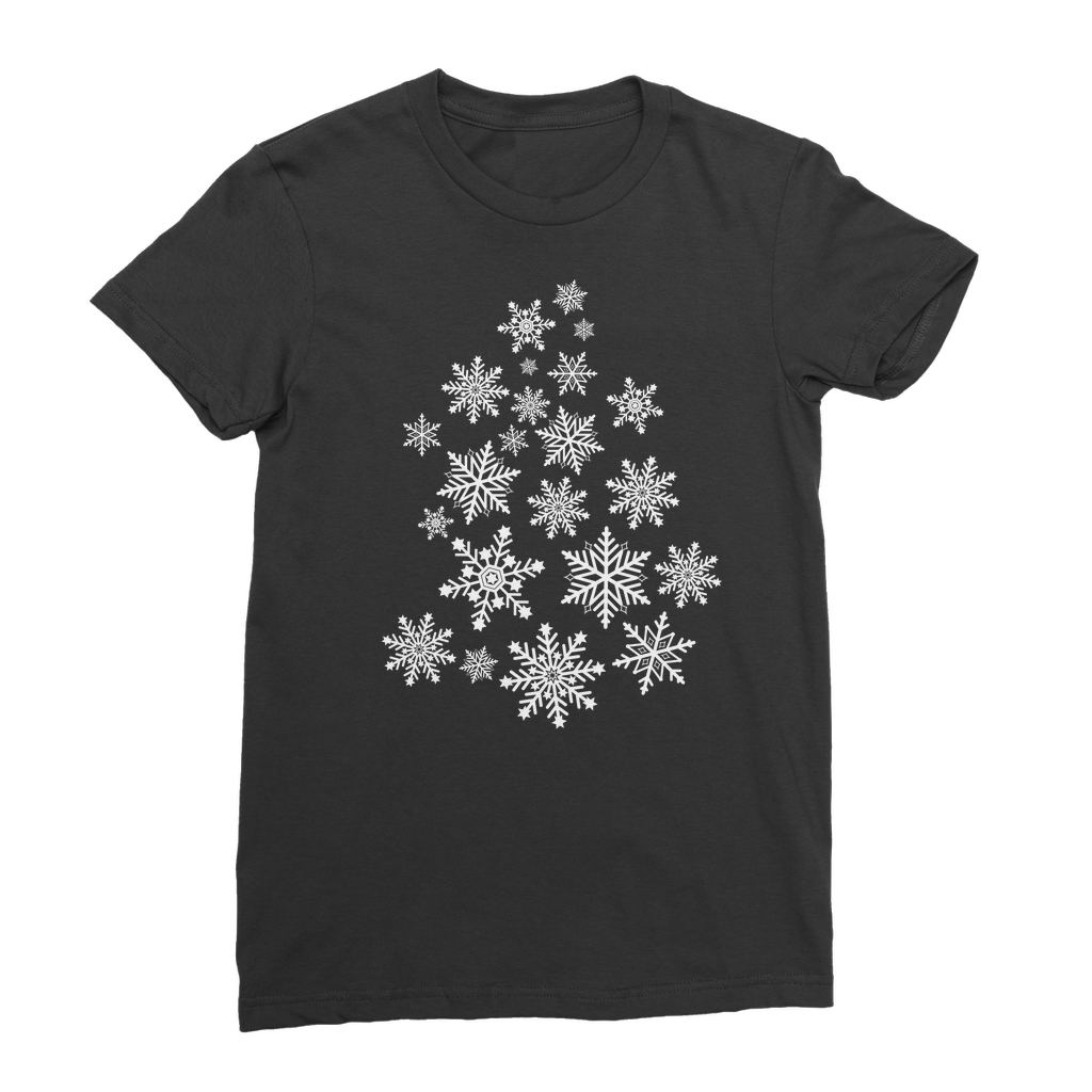 Snowflakes Classic Women's T-Shirt