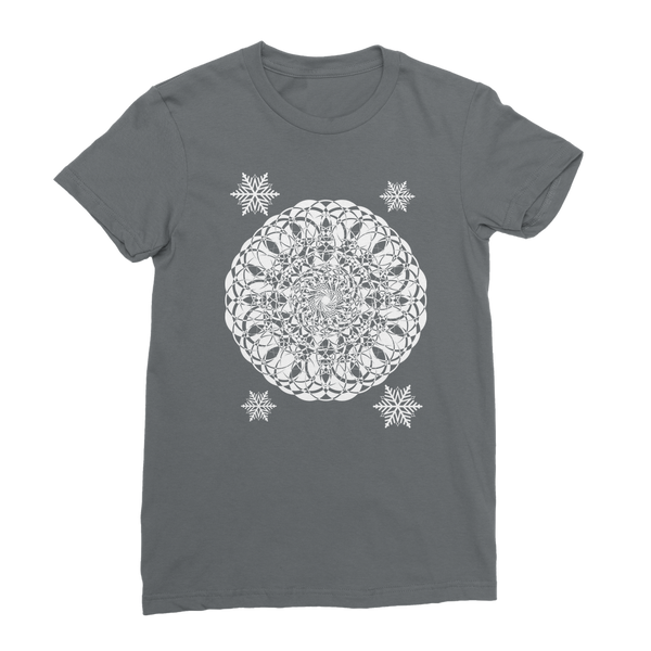 Christmas Mandala with Snowflakes Classic Women's T-Shirt
