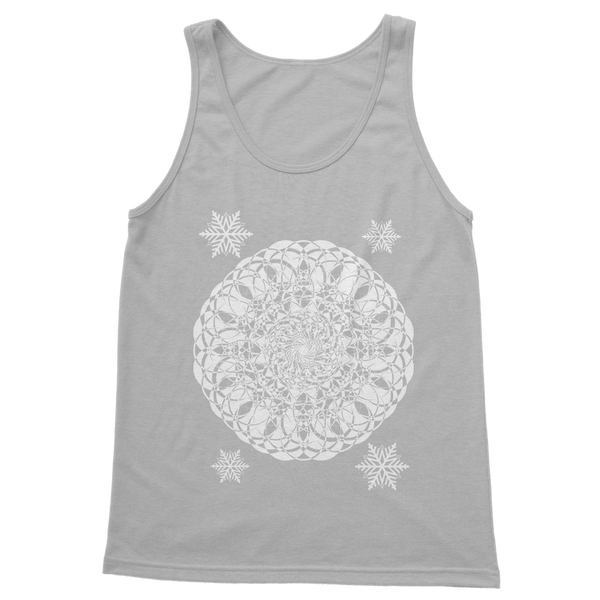 Christmas Mandala with Snowflakes Classic Women's Tank Top