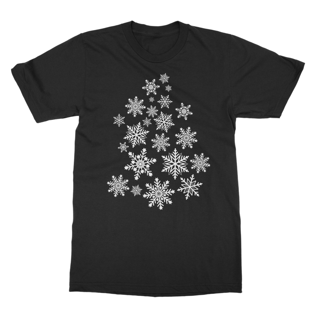 Snowflakes Classic Adult T-Shirt