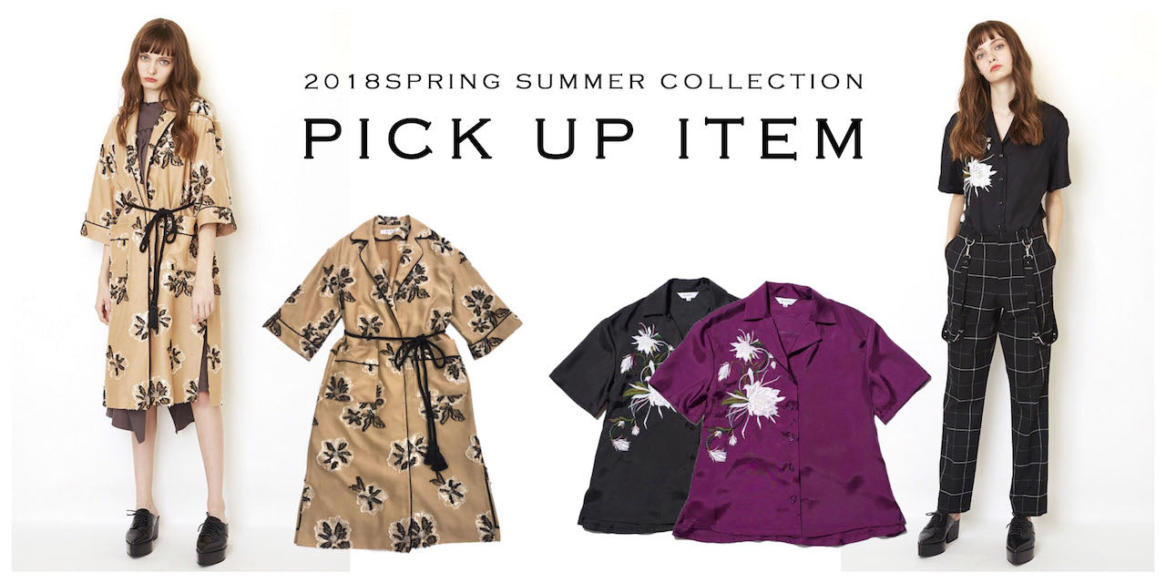 2018 SPRING / SUMMER COLLECTION FIRST DELIVERY