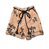 CUT JACQUARD SHORT PANTS