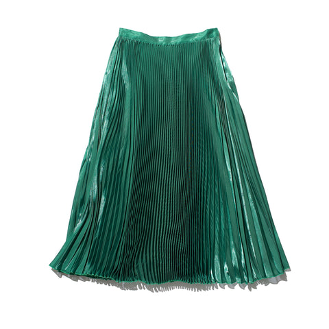 MAXI PLEATS SKIRT