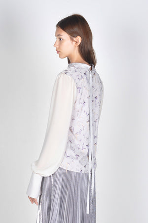 Snow Drop Embroidered Blouse