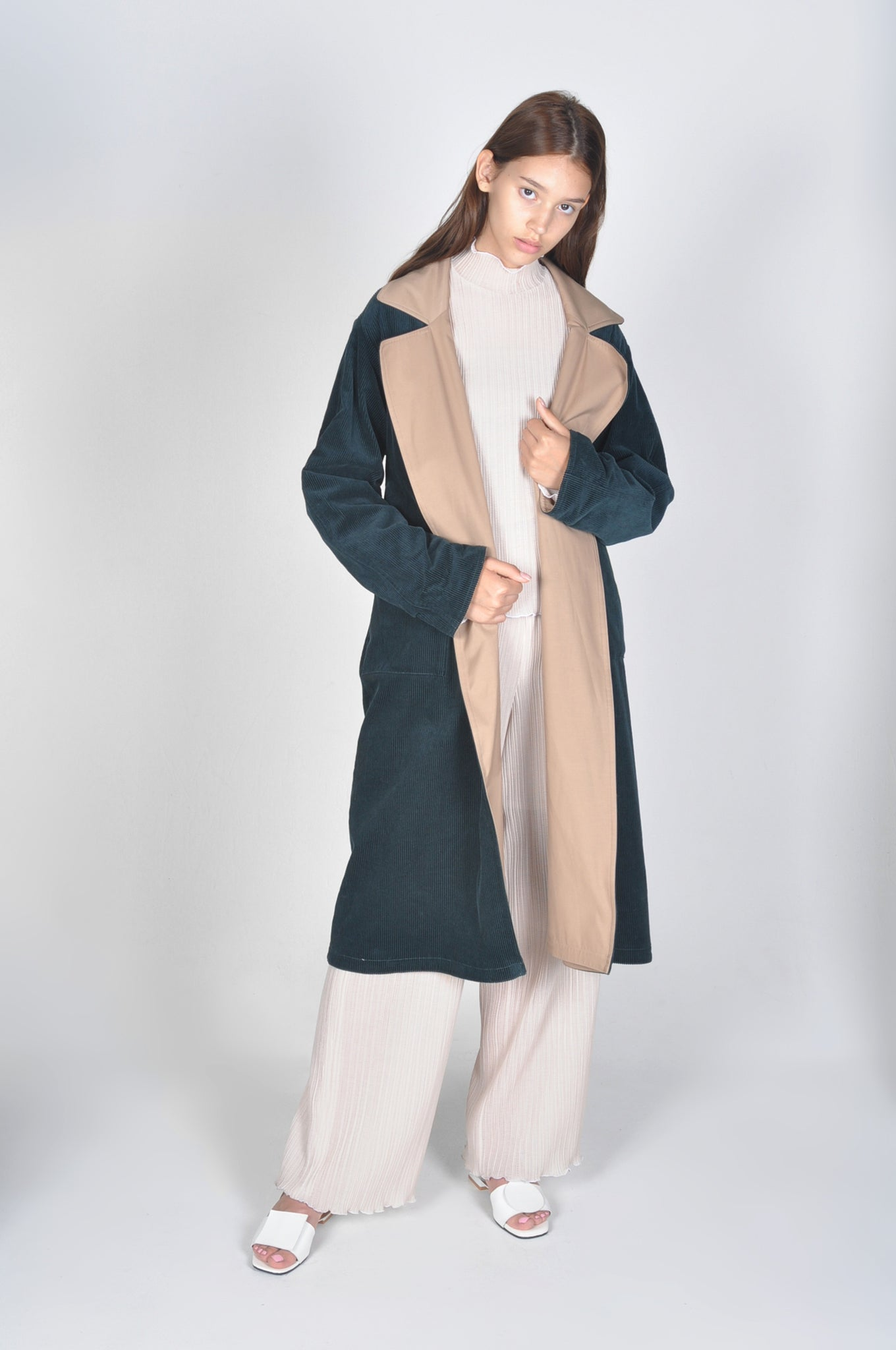 Reversible Corduroy Coat