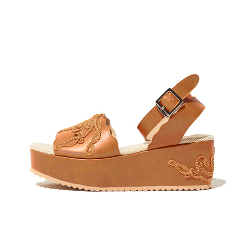 CORD EMBROIDERY SANDAL
