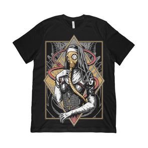 Jersey Tee: Gas Mask Nun