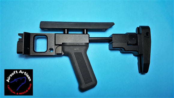 Airsoft Artisan Zenito Style PT2 Stock for A&K PKM AEG & Raptor PKP
