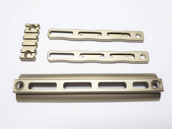 AIRSOFT ARTISAN SCAR MLOK ADAPTER KIT SET for WE / VFC SCAR GBB/AEG Series (DE)
