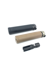 AIRSOFT ARTISAN FH556 STYLE  SILENCER WITH FHSA80 FLASH HIDER