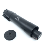 AIRSOFT ARTISAN QD SILENCER For KWA / ASG MP9 & TP9 GBB SERIES ( New Type ) + ACEtech AT2000R Traer Unit