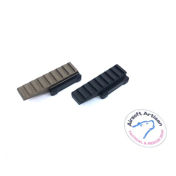 AIRSOFT ARTISAN TACTICAL RISER ( BLACK / DARK EARTH )