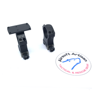 AIRSOFT ARTISAN NF Style 30mm mount with  Micro Reflex Sight Mount