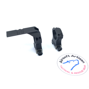 AIRSOFT ARTISAN NF Style 30mm mount with  Tactical Ring Rail