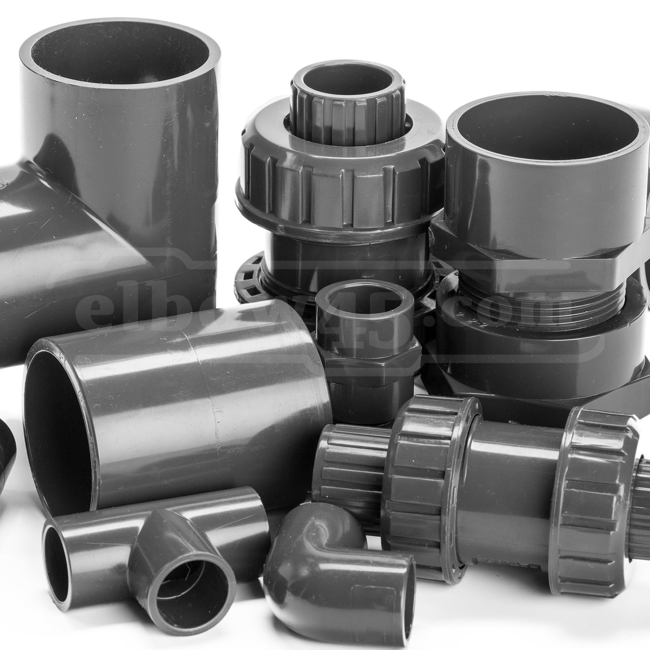 upvc and cpvc sch80 fittings
