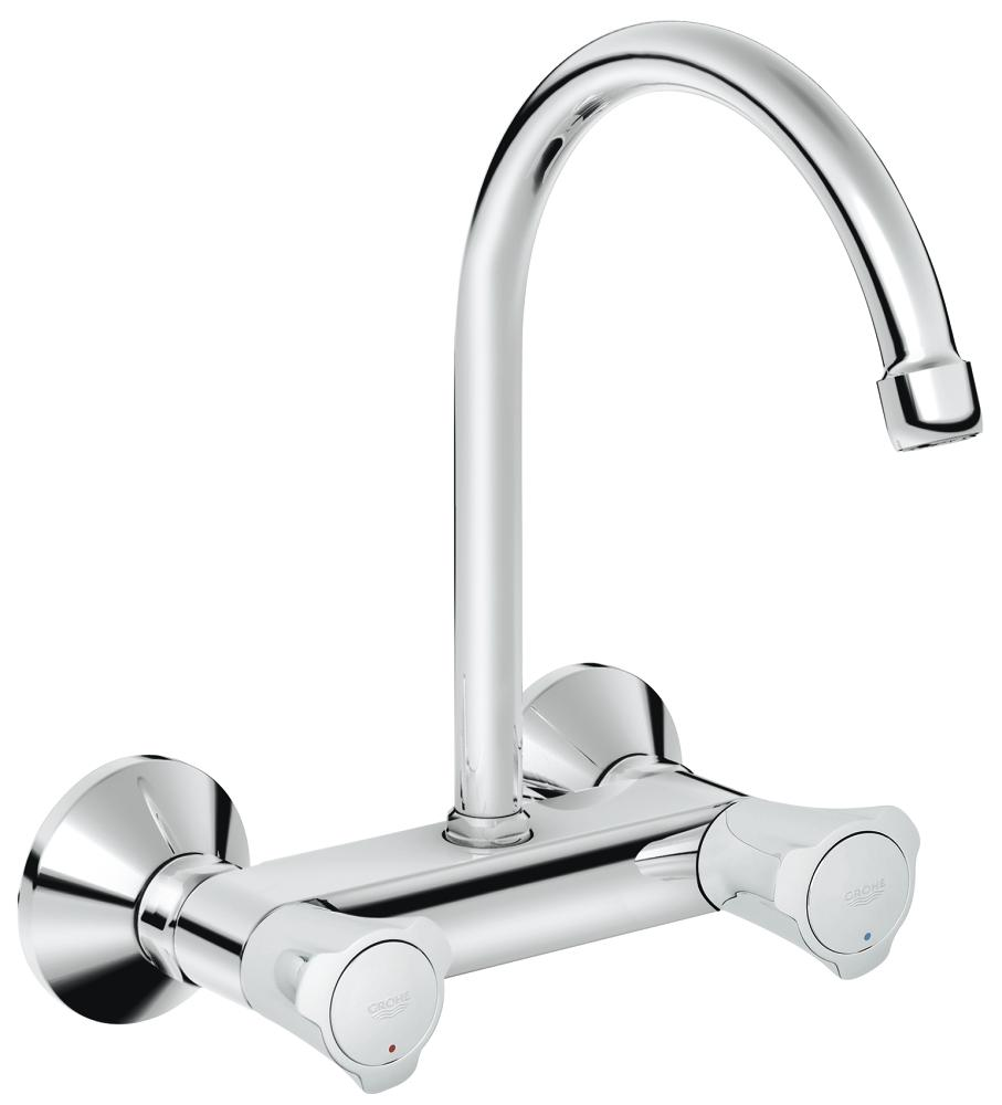 Costa L Wall sink mixer