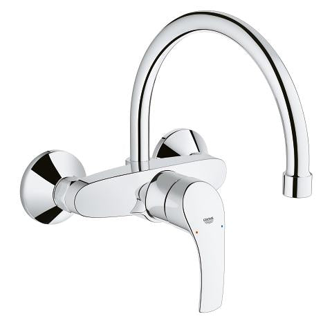 Eurosmart Single-lever sink mixer 32482002 - elbow45.com