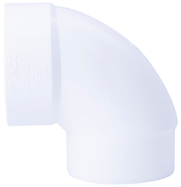 elbow 90 spg x hub dwv pvc - elbow45.com