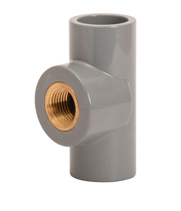 cpvc equal tee female threded brass - elbow45.com