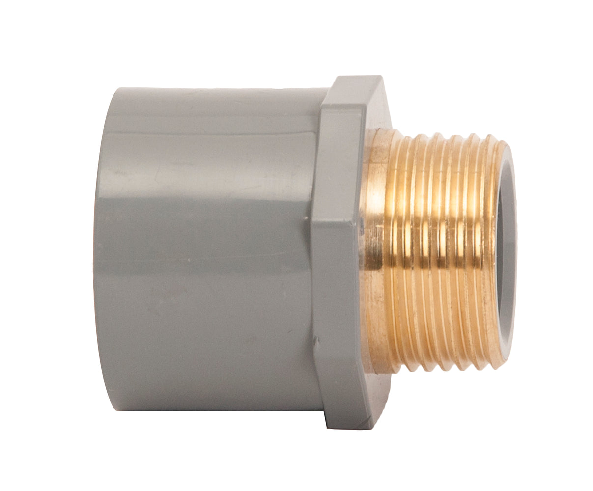 male adaptor brass cpvc sch80
