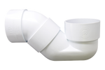 p-trap UPVC white - elbow45.com
