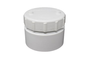 access plug & cap UPVC white