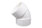 elbow 45° UPVC white - elbow45.com