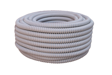 white duct hose