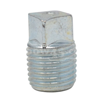 galvanized end plug