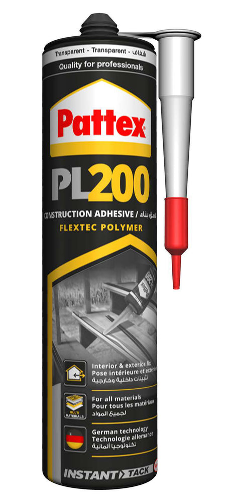 pattex construction adhesive fletec polymer pl200