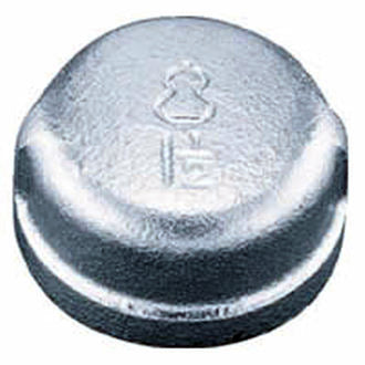 galvanized End Cap - elbow45.com